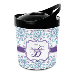 Mandala Floral Plastic Ice Bucket (Personalized)