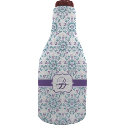 Mandala Floral Wine Sleeve (Personalized)