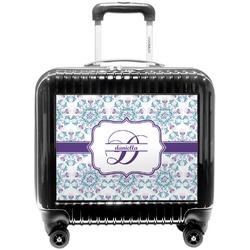 Mandala Floral Pilot / Flight Suitcase (Personalized)