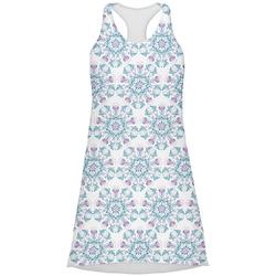 Mandala Floral Racerback Dress (Personalized)