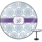 Mandala Floral Round Table (Personalized)