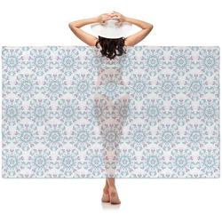 Mandala Floral Sheer Sarong (Personalized)