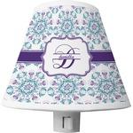 Mandala Floral Shade Night Light (Personalized)
