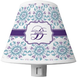 Mandala Floral Shade Night Light (Personalized)
