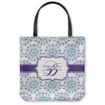 Mandala Floral Canvas Tote Bag (Personalized)