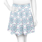 Mandala Floral Skater Skirt (Personalized)