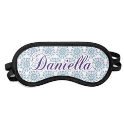 Mandala Floral Sleeping Eye Mask (Personalized)