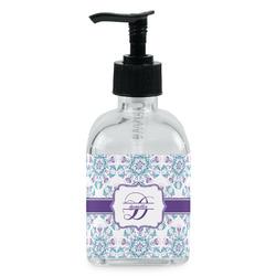 Mandala Floral Soap/Lotion Dispenser (Glass) (Personalized)
