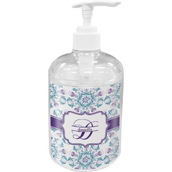 Mandala Floral Soap / Lotion Dispenser (Personalized)