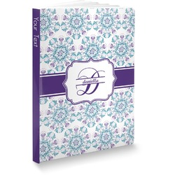 Mandala Floral Softbound Notebook (Personalized)