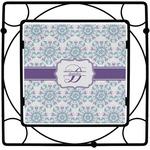 Mandala Floral Square Trivet (Personalized)