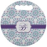Mandala Floral Stadium Cushion (Round) (Personalized)