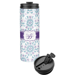 Mandala Floral Stainless Steel Tumbler (Personalized)