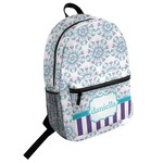 Mandala Floral Student Backpack (Personalized)