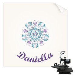 Mandala Floral Sublimation Transfer (Personalized)