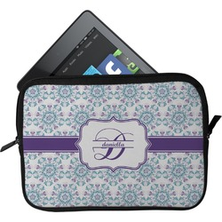 Mandala Floral Tablet Case / Sleeve (Personalized)
