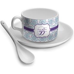 Mandala Floral Tea Cup - Single (Personalized)