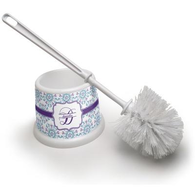 Mandala Floral Toilet Brush (Personalized)