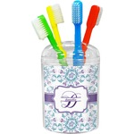 Mandala Floral Toothbrush Holder (Personalized)