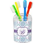 Mandala Floral Toothbrush Holder (Personalized)