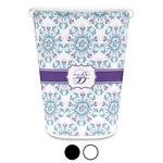 Mandala Floral Waste Basket (Personalized)