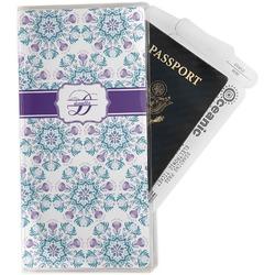 Mandala Floral Travel Document Holder
