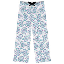 Mandala Floral Womens Pajama Pants - XL (Personalized)