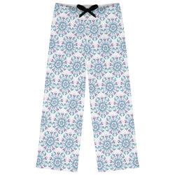 Mandala Floral Womens Pajama Pants (Personalized)