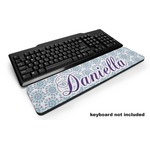 Mandala Floral Keyboard Wrist Rest (Personalized)