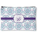 Mandala Floral Zipper Pouch (Personalized)