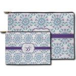 Mandala Floral Zipper Pouch (Personalized)