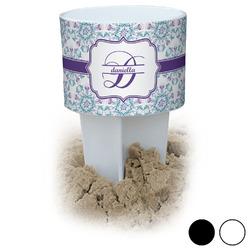 Mandala Floral Beach Spiker Drink Holder (Personalized)
