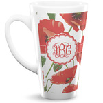 Poppies 16 Oz Latte Mug (Personalized)