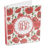 Poppies 3-Ring Binder (Personalized)