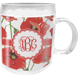 Poppies Acrylic Kids Mug (Personalized)
