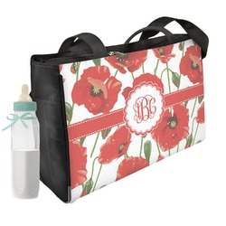 Poppies Diaper Bag (Personalized)
