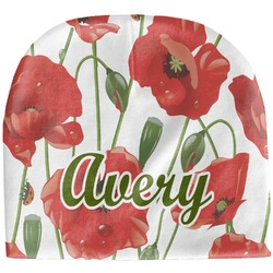 Poppies Baby Hat (Beanie) (Personalized)