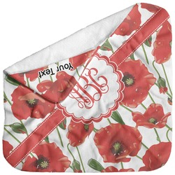 Poppies Baby Hooded Towel (Personalized)