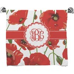 Poppies Bath Towel (Personalized)