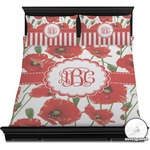 Poppies Duvet Cover Set (Personalized)