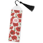 Poppies Book Mark w/Tassel (Personalized)
