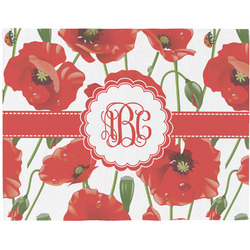 Poppies Placemat (Fabric) (Personalized)