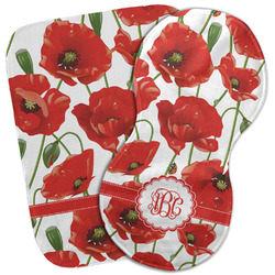 Poppies Burp Cloth (Personalized)