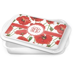 Poppies Cake Pan (Personalized)