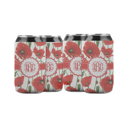 Poppies Can Sleeve (12 oz) (Personalized)