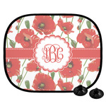 Poppies Car Side Window Sun Shade (Personalized)