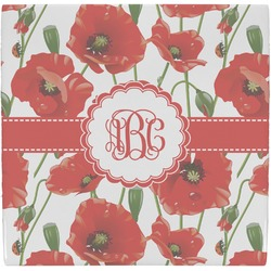 Poppies Ceramic Tile Hot Pad (Personalized)