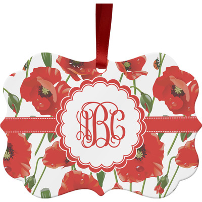 Poppies Ornament (Personalized)