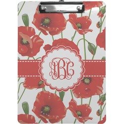 Poppies Clipboard (Personalized)