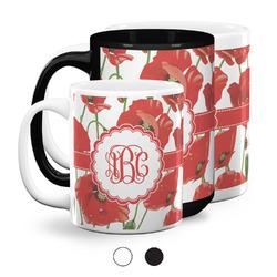 Poppies Coffee Mugs (Personalized)